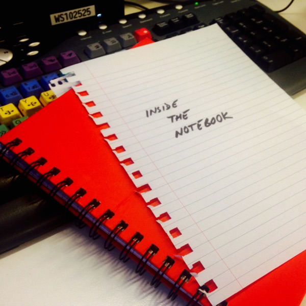 """Inside the Notebook"" as heard on ABC Radio Qld with David Curnow"