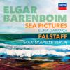 Daniel Barenboim, Elīna Garanča & Staatskapelle Berlin - Elgar: Sea Pictures. Falstaff  artwork