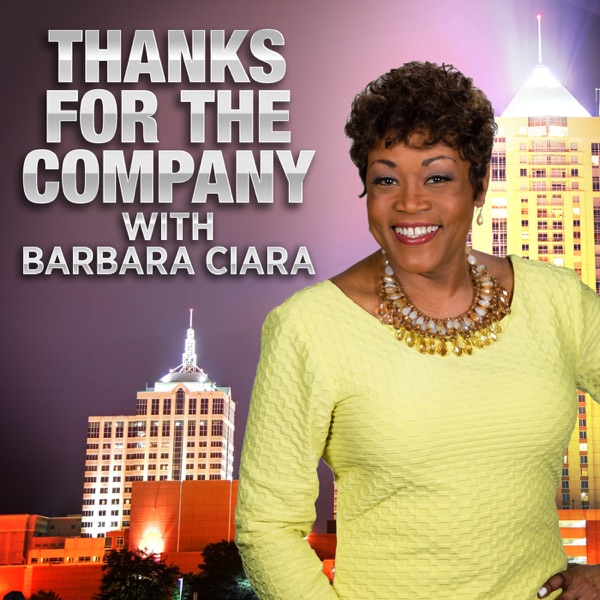 """Thanks for the company"" with Barbara Ciara"