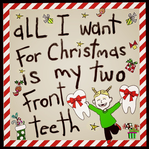 All I Want for Christmas Is My Two Front Teeth (feat. Luigi Colombo) - Single