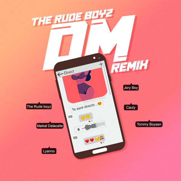 DM (Remix) [feat. Lyanno, Cauty & Tommy Boysen] - Single