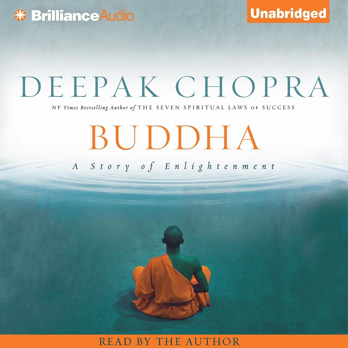 Buddha A Story Of Enlightenment Album Cover By Deepak Chopra