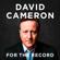David Cameron - For the Record