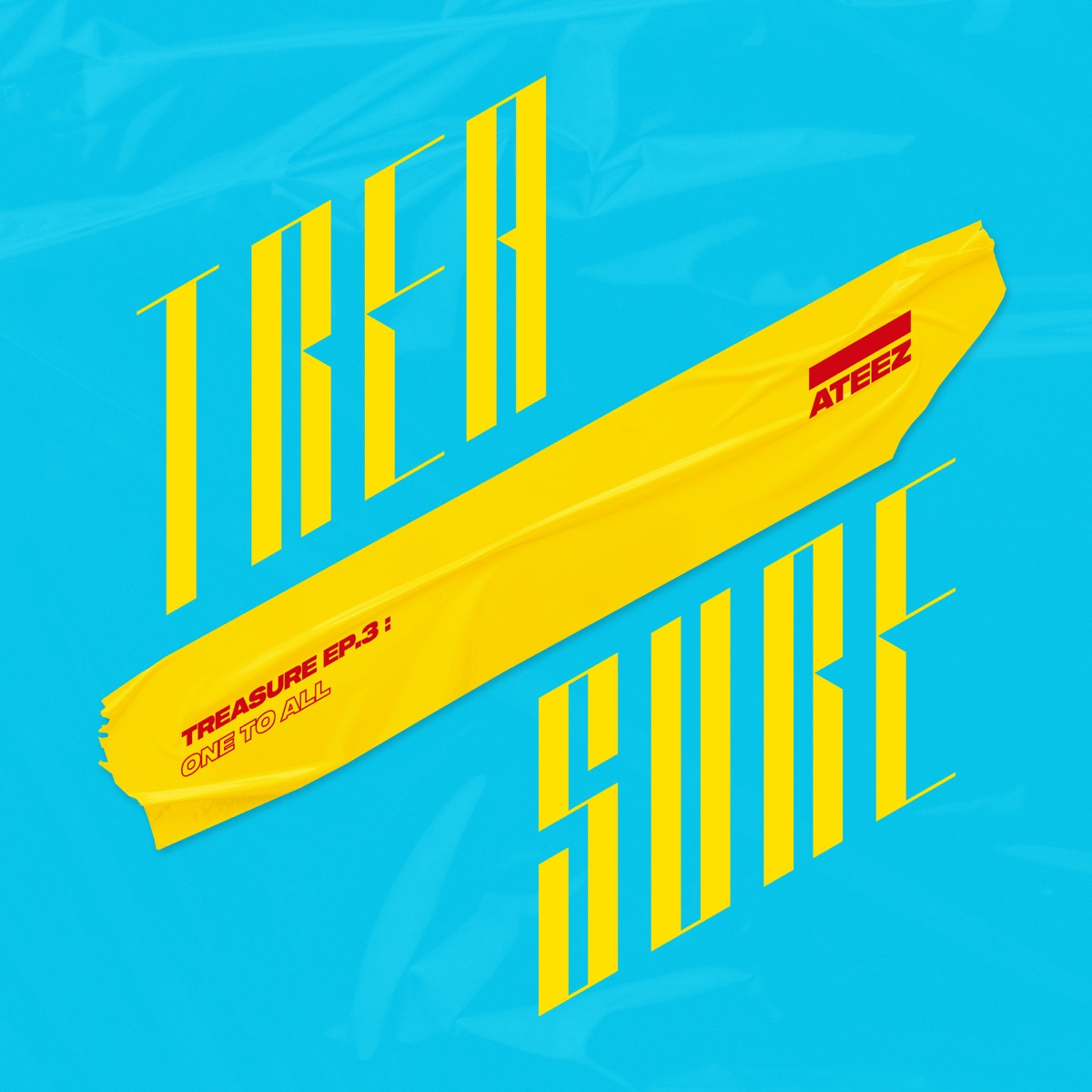 TREASURE EP3 One To All ATEEZ CD cover