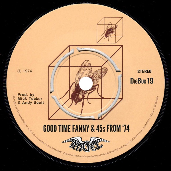 Good Time Fanny by Angel on Mearns 70s