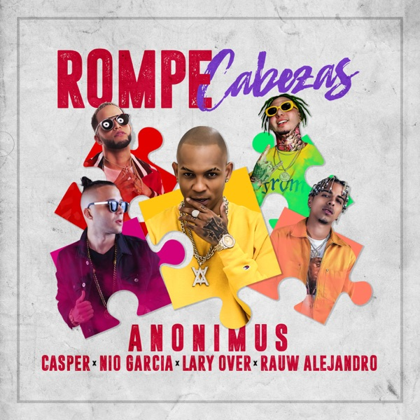 Rompe Cabezas (feat. Lary Over & Rauw Alejandro) - Single