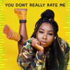 Tomike - You Don't Really Rate Me artwork