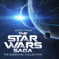 Robert Ziegler, The Slovak National Symphony Orchestra & Members of the Slovak Philharmonic Choir - Music From the Star Wars Saga - The Essential Collection artwork