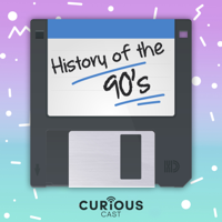Podcast cover art for History of the 90s