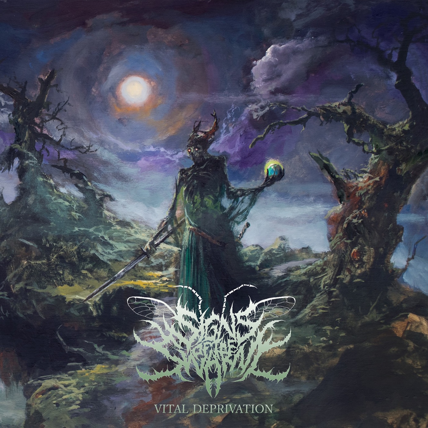 Signs of the Swarm - Tempting Death [single] (2019)