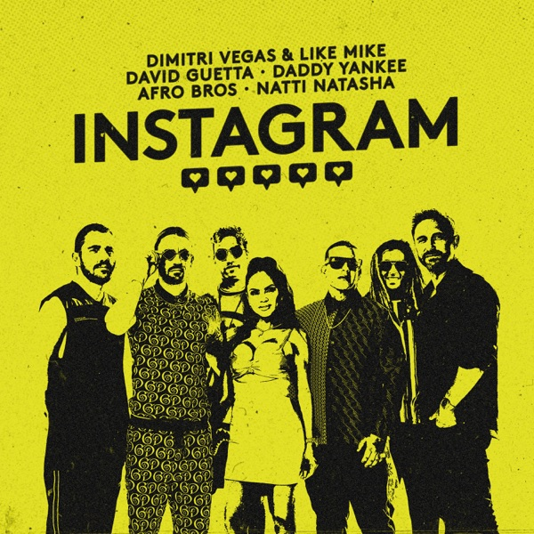 Instagram (feat. Afro Bros & Natti Natasha) - Single