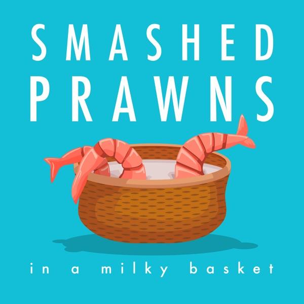 Smashed Prawns in a Milky Basket