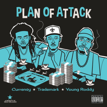 Curren$y, Trademark Da Skydiver & Young Roddy Plan of Attack music review