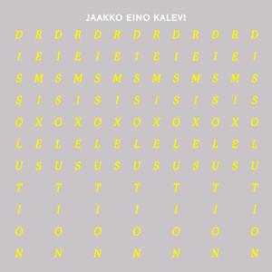 Jaakko Eino Kalevi - Dissolution Remixes - EP