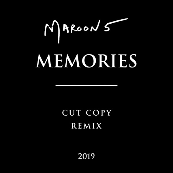 Memories (Cut Copy Remix) - Single