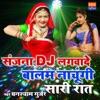Sanjana DJ Lagwade Balam Nachungi Sari Rat