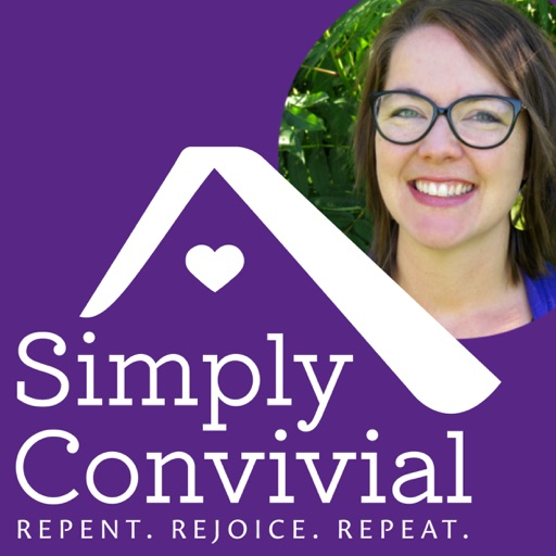 Cover image of Simply Convivial: Organization & Mindset for Home & Homeschool
