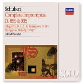 Alfred Brendel - Schubert: 4 Impromptus, Op.90, D.899 - No.4 in A flat: Allegretto