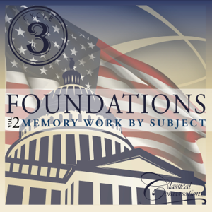 Classical Conversations - Foundations Cycle 3, Vol. 2 - Memory Work by Subject