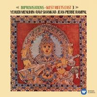 Ravi Shankar, Jean-Pierre Rampal & Yehudi Menuhin - Improvisations: West Meets East, Vol. 3 artwork