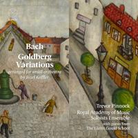 Trevor Pinnock, Royal Academy of Music Soloists Ensemble & The Glenn Gould School - Goldberg Variations artwork