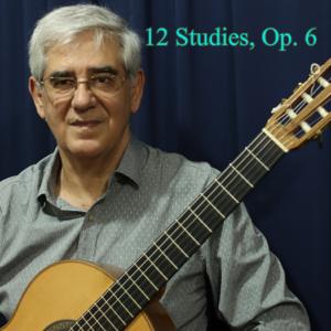 Edson Lopes - 12 Studies, Op. 6