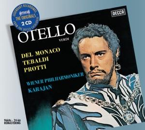Aldo Protti, Nello Romanato, Mario del Monaco, Vienna Philharmonic & Herbert von Karajan - Otello, Act 3: Vieni; l'aula è deserta