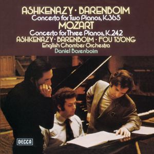 Vladimir Ashkenazy, Daniel Barenboim, Fou Ts'ong & English Chamber Orchestra - Mozart: Piano Concertos Nos. 7 & 10