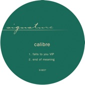 Calibre - end of meaning