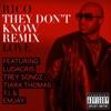 They Don t Know Remix feat Ludacris Trey Songz Tiara Thomas T I Emjay Single