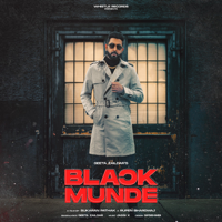 Geeta Zaildar - Black Munde - Single artwork