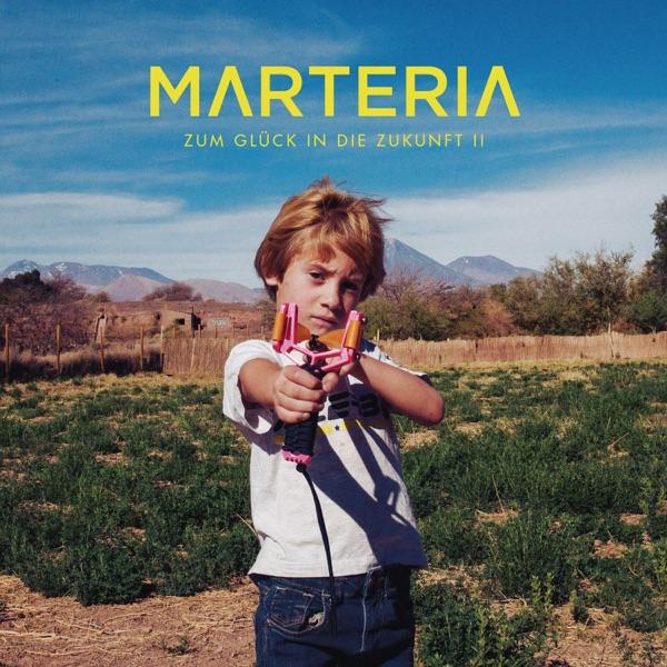Marteria mit Kids (2 Finger an den Kopf)