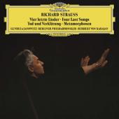 R. Strauss: Tod und Verklärung, Metamorphosen & Vier letzte Lieder - Berliner Philharmoniker, Gundula Janowitz & Herbert von Karajan Cover Art