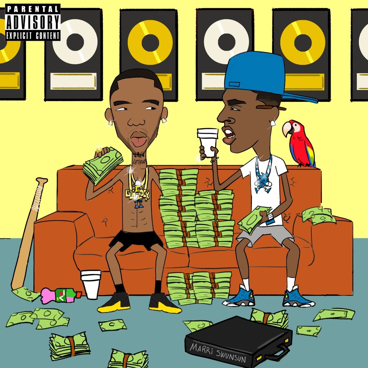 Young Dolph x Key Glock – Dum and Dummer 2 (2021)
