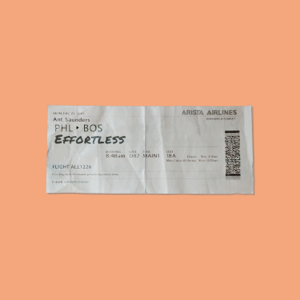 Ant Saunders - Effortless