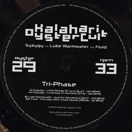 Tri-Phase - EP by Syzygy & Luke Warmwater