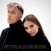 Laura Tesoro & Loïc Nottet - Strangers (feat. Alex Germys) artwork