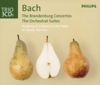 Academy of St. Martin in the Fields & Sir Neville Marriner - Bach: Brandenburg Concertos - Orchestral Suites - Violin Concertos  artwork