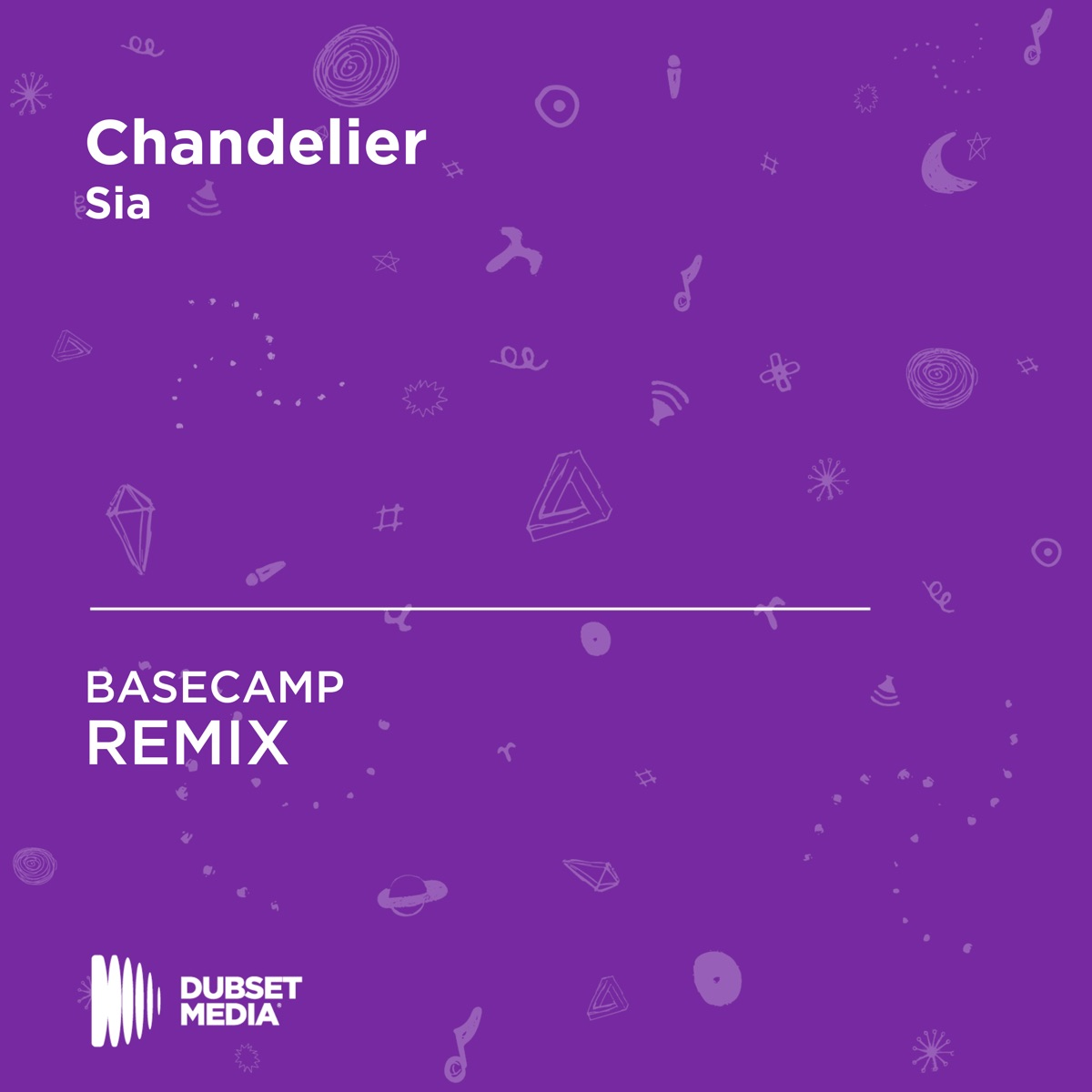 Chandelier BASECAMP Unofficial Remix Sia - Single BASECAMP CD cover
