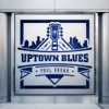 Paul Brown - Uptown Blues  artwork