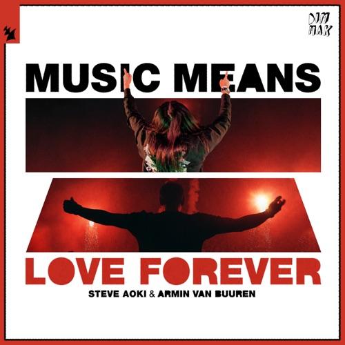 Steve Aoki & Armin van Buuren - Music Means Love Forever - Single [iTunes Plus AAC M4A]