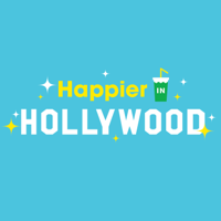 Podcast cover art for Happier in Hollywood