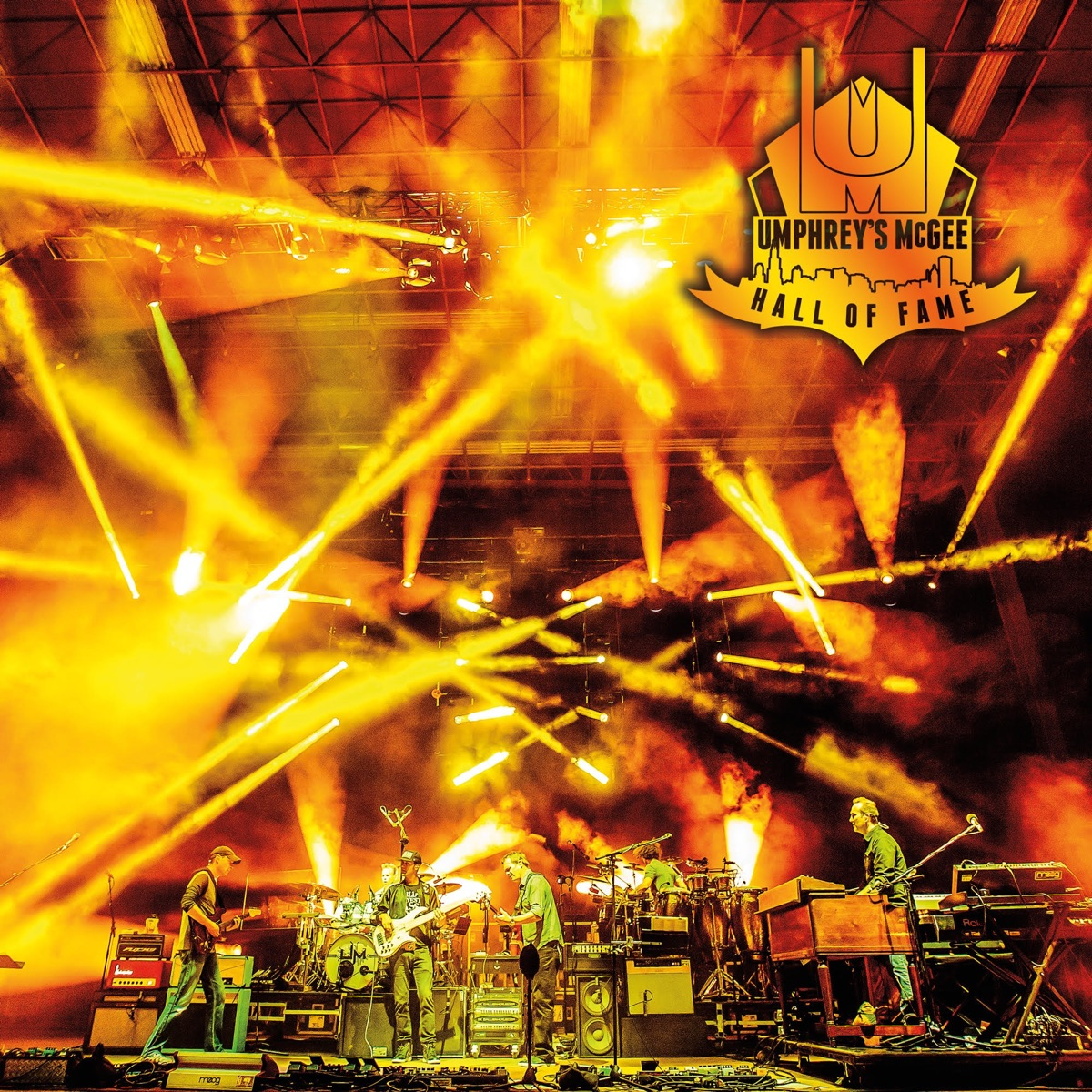 Hall of Fame Class Of 2016 Umphreys McGee CD cover