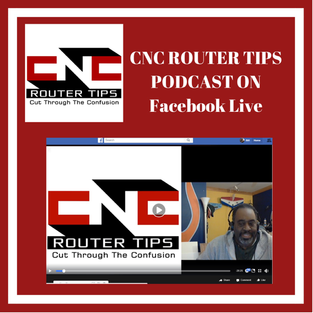 CNC Router Tips Podcast: CNCRT60: CNC Router Tips Podcast On