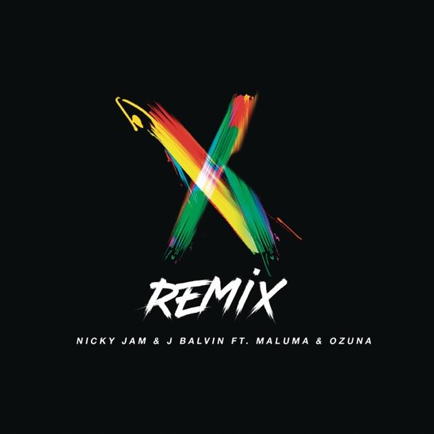 Nicky Jam & J Balvin – X (Remix) [feat. Maluma & Ozuna] – Single [iTunes Plus M4A] | iplusall.4fullz.com
