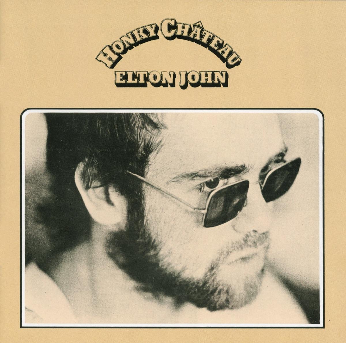 Honky Château Elton John CD cover