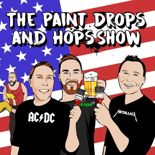 Cover image of The Paint Drops and Hops Show