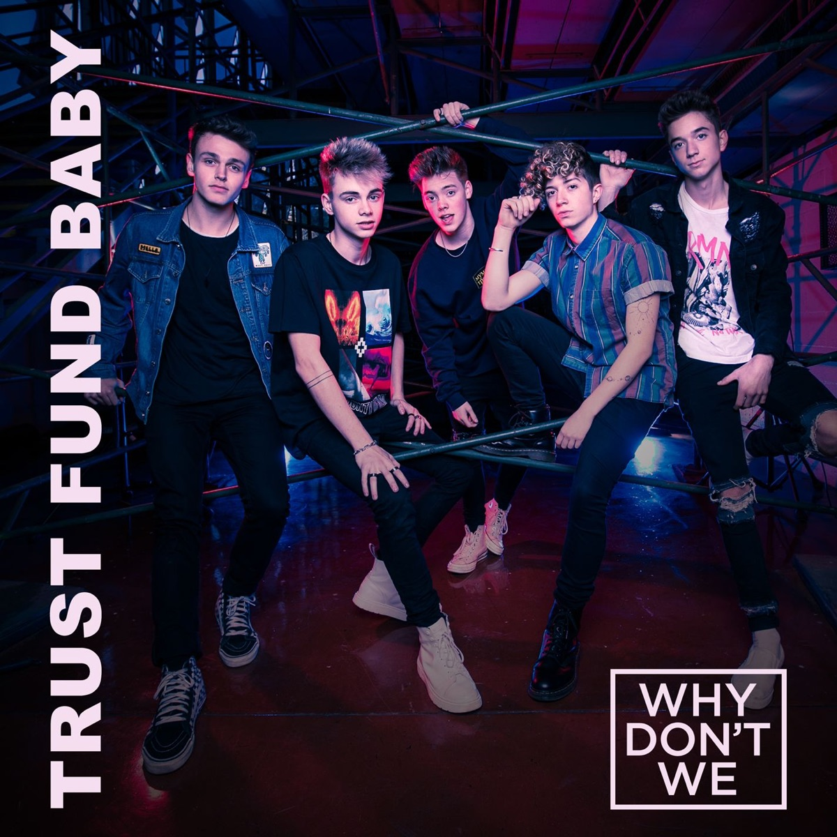 Trust Fund Baby - Single Why Dont We CD cover