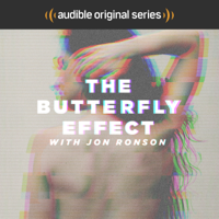 Podcast cover art for The Butterfly Effect with Jon Ronson