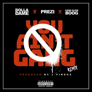 You Ain't Gang (Remix) [feat. Prezi & Cash Click Boog] - Single Mp3 Download